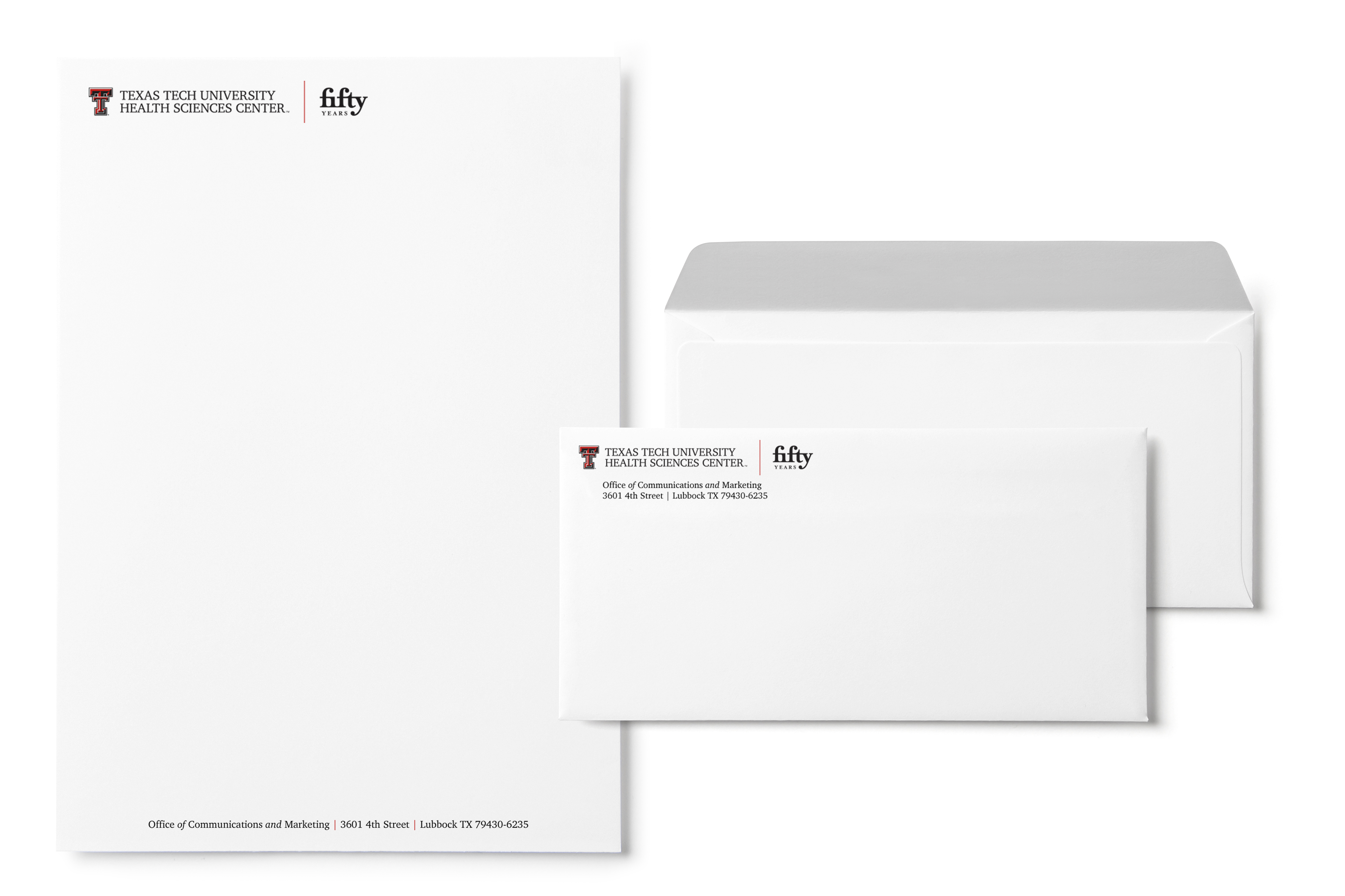 Fifty Stationary Mockup