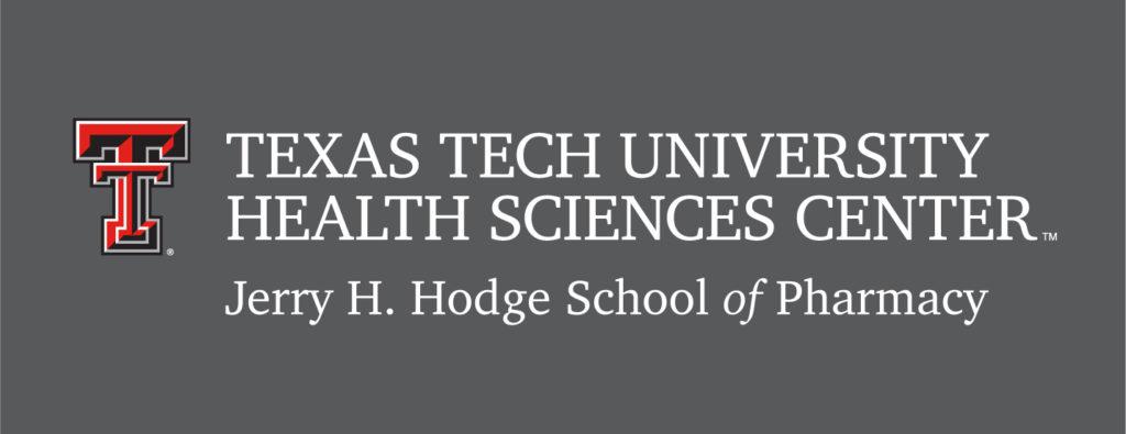 TTUHSC Hodge School of Pharmacy Left 4 Color Logo